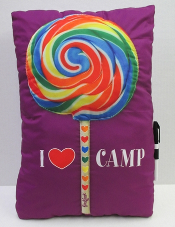 I Love Candy Lollipop Autograph Pillow